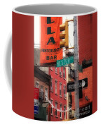 Tribute To Little Italy - Hester And Mulberry Sts - N Y Coffee Mug