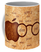 Tribute To Steve Jobs 2 Digital Art Coffee Mug