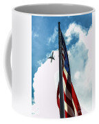 Tribute To The Day America Stood Still Coffee Mug by Rene Triay Photography