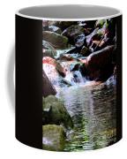 Trickle Down The Mountain Coffee Mug