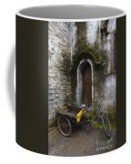 Tricycle Parked In Alleyway Coffee Mug