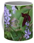 Trillium And Phlox Coffee Mug