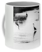 Trilogy - Black And White Coffee Mug
