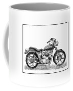 Trimuph In Black And White Coffee Mug