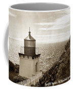 Trinidad Head Light Humboldt County California 1910 Coffee Mug