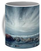 Trinidad State Beach In Infrared Coffee Mug