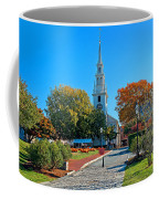 Trinity Church In Queen Anne Square In Newport Coffee Mug