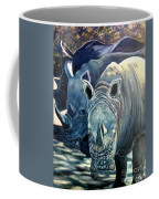 Trio Of Rhino Coffee Mug