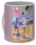 Trios At Dominion Skating Rink Coffee Mug