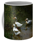 Triple Ducks Coffee Mug
