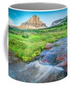 Triple Falls Stream Glacier National Park Coffee Mug
