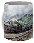 Triple Header In Color Coffee Mug