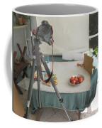 Tripod And Bowl Of Fruit Coffee Mug