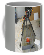 Tripod And Cherries On Floor Coffee Mug