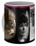 Triptych Jackie Sharkey Center Panel Cinco De Mayo Nogales Sonora 1969-2011 Coffee Mug