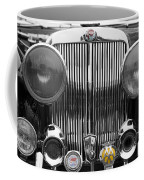 Triumph Roadster Front End Selective Color Coffee Mug