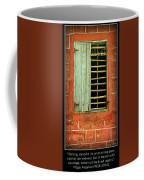 Triumphant Courage -- Inspirational Print Coffee Mug