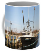 Troller At Dock Coffee Mug