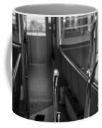 Trolley 28 Leaver Black And White Coffee Mug