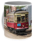Trolley Car At The Fort Edmonton Park Coffee Mug