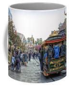 Trolley Car Main Street Disneyland 01 Coffee Mug