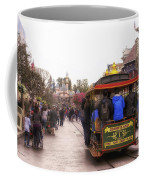 Trolley Car Main Street Disneyland 02 Coffee Mug