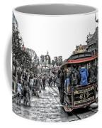 Trolley Car Main Street Disneyland Sc Coffee Mug
