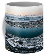Tromso From The Mountains Coffee Mug