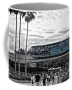 Tron Monorail Wdw In Sc Coffee Mug by Thomas Woolworth