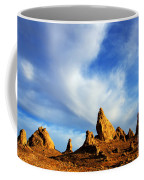Trona Pinnacles California Coffee Mug by Bob Christopher
