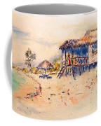 Tropical  Beach Hut Coffee Mug