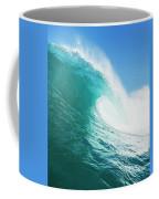 Tropical Blue Ocean Wave Coffee Mug