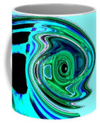 Tropical Fish Abstract Coffee Mug