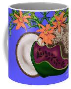 Tropical Fruit Coffee Mug by Christine Fournier