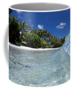 Tropical Glass Coffee Mug