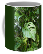 Tropical Green Foliage Coffee Mug