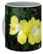 Tropical Hibiscus - Bonaire Wind 01 Coffee Mug