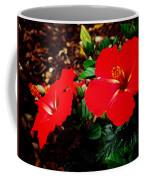 Tropical Hibiscus - Starry Wind 01a Coffee Mug