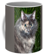 Tropical Kitty Coffee Mug