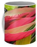 Tropical Leaves Abstract 3 Coffee Mug