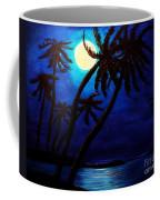 Tropical Moon On The Islands Coffee Mug