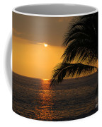 Tropical Ocean Sunset Coffee Mug
