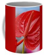 Tropical Red Anthurium Coffee Mug