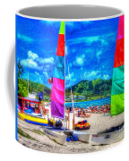 Tropical Sails Coffee Mug