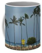 Tropical Storm Flossie Kapukaulua Beach Paia Maui Hawaii 2013 Coffee Mug