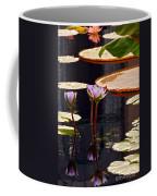 Tropical Waters Floral Charm Coffee Mug