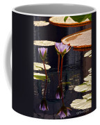 Tropical Waters Floral Charm -- Version 2 Coffee Mug
