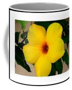 Tropical Yellow Blossom Coffee Mug