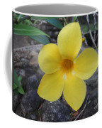 Tropical Yellow Flower Coffee Mug