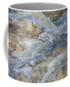 Trout Pond Abstract Coffee Mug